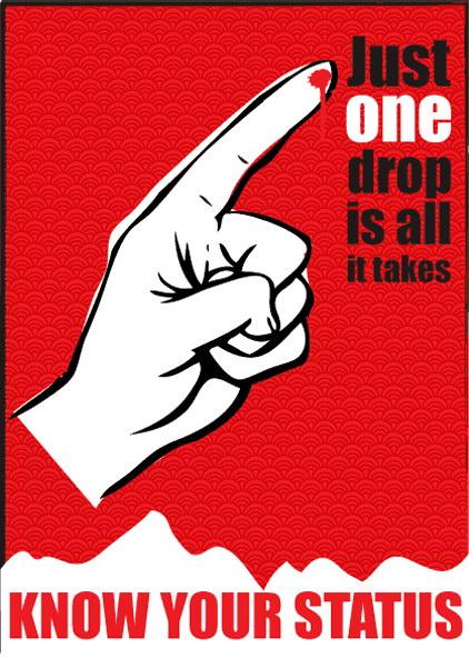 Aids Poster Series | Angella Coppen